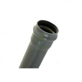 Rura ciśnieniowa z PVC-u PN-12,5 DN 160x7,7mm odcinek 3 m