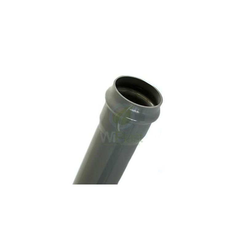 Rura ciśnieniowa z PVC-u PN-12,5 DN 160x7,7mm odcinek 6 m