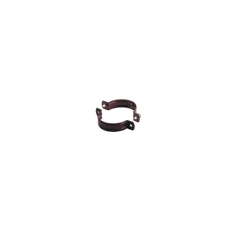 Uchwyt ocynkowany stalowy ze śrubą i kółkiem rozporowym DN 90x8x100