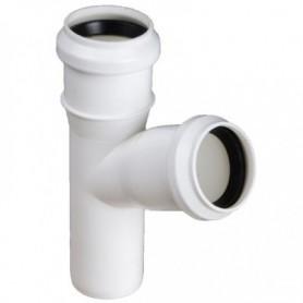 Trójnik kanalizacyjny fi 32/32 kąt 67 stopni