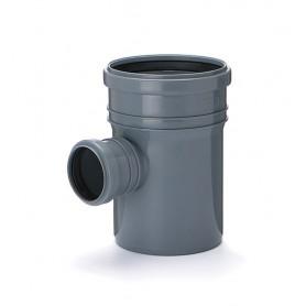 Trójnik kanalizacyjny fi 110/75 kąt 90 stopni