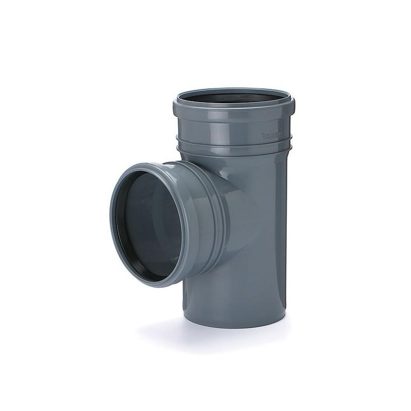 Trójnik kanalizacyjny DN 75/75 kąt 90 stopni (wewnętrzny)