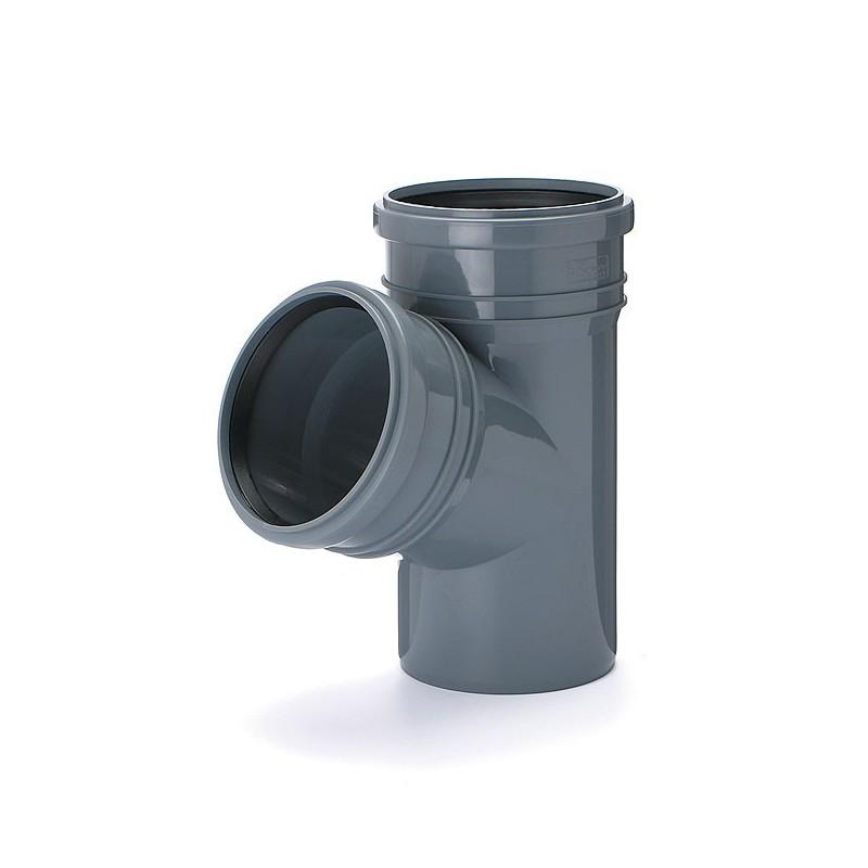 Trójnik kanalizacyjny DN 75/75 kąt 67 stopni (wewnętrzny)