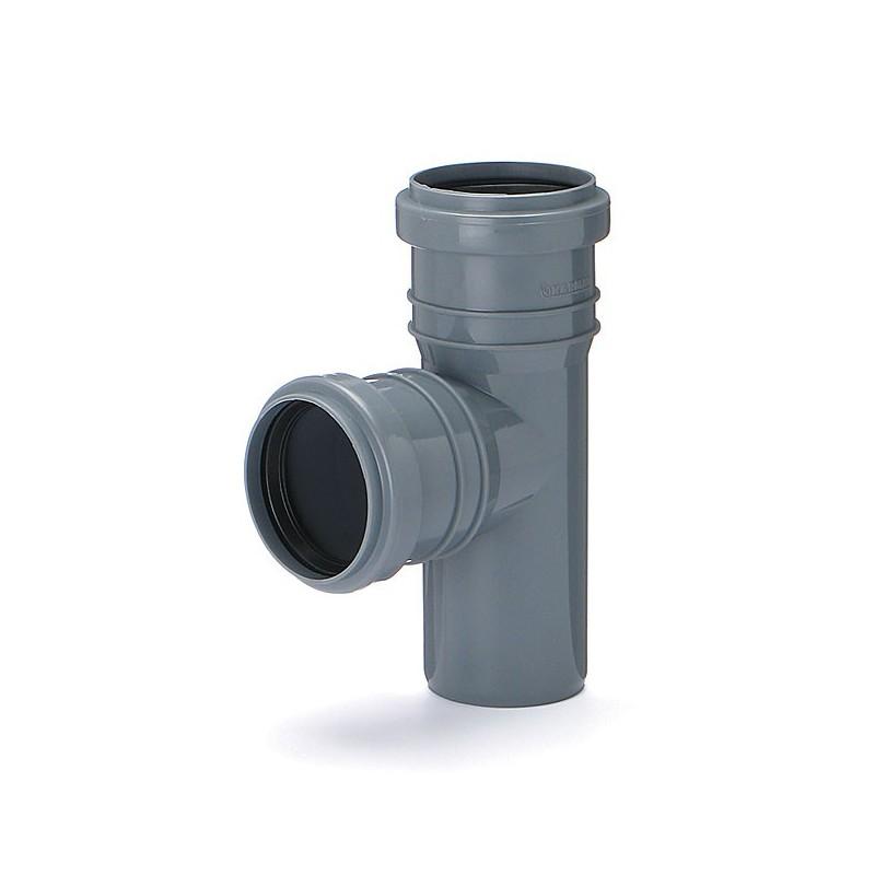 Trójnik kanalizacyjny DN 50/50 kąt 90 stopni (wewnętrzny)