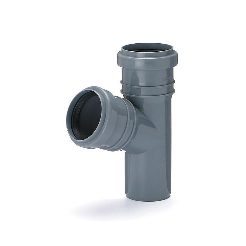 Trójnik kanalizacyjny DN 50/50 kąt 45 stopni (wewnętrzny)