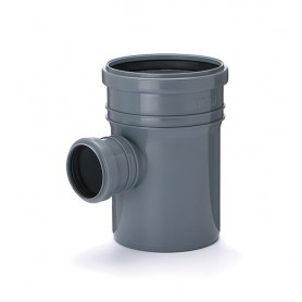 Trójnik kanalizacyjny fi 75/50 kąt 90 stopni