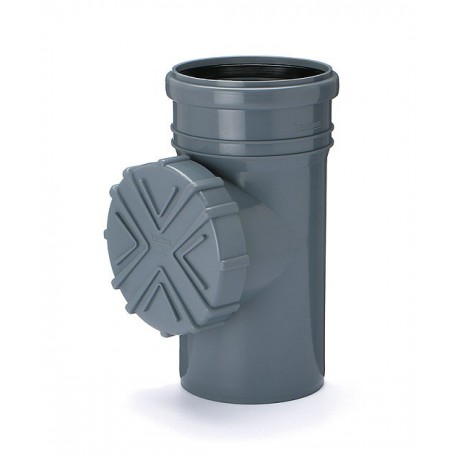 Czyszczak kanalizacyjny- Rewizja DN 110 (wewnętrzny)