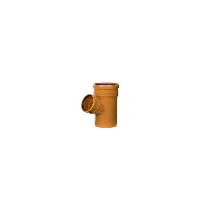 Trójnik kanalizacyjny DN 160/110 kąt 67 stopni (zewnętrzny)