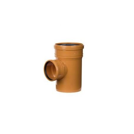 Trójnik kanalizacyjny DN 160/110 kąt 90 stopni (zewnętrzny)