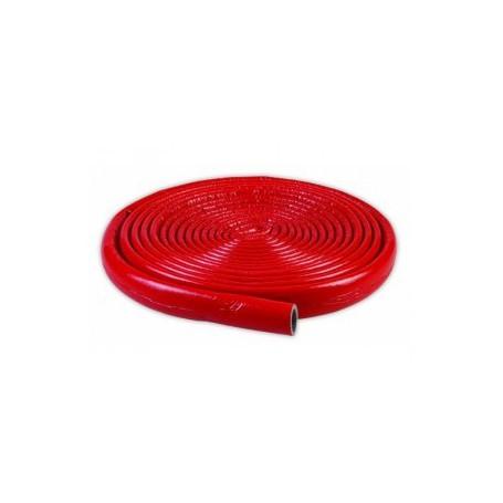 Otulina termoizolacyjna PE fi 28/6mm krążek 10mb (czerwona)