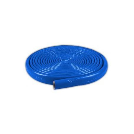 Otulina termoizolacyjna PE fi 28/6mm krążek 10mb (niebieska)