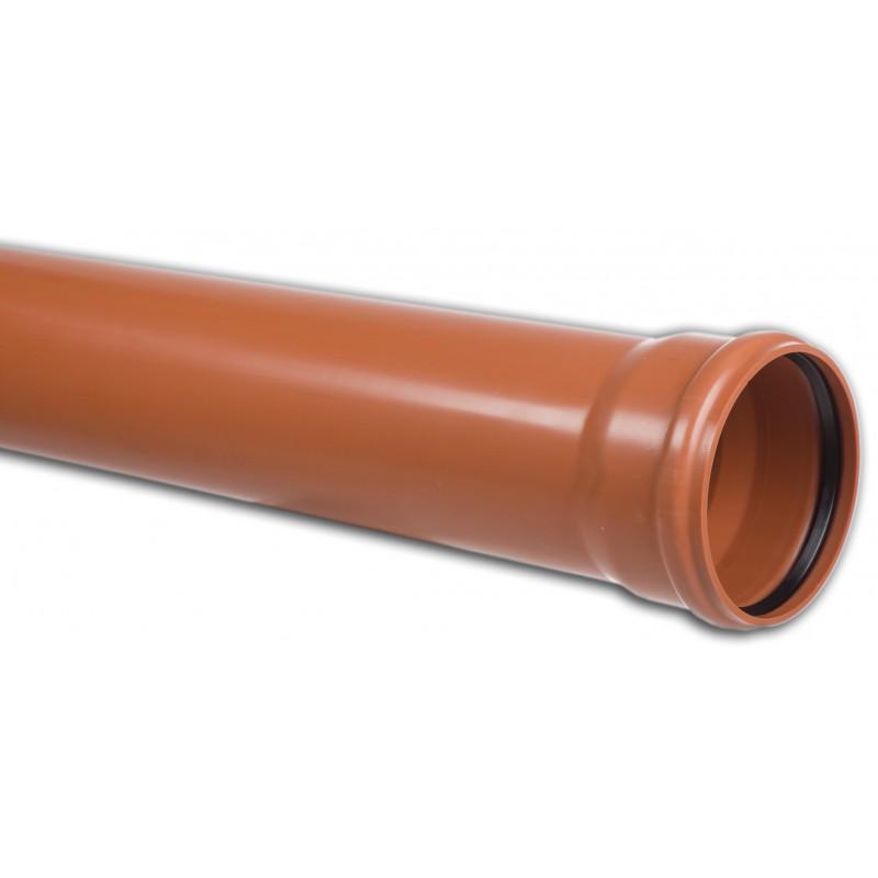 Rura kanalizacyjna z PVC-u DN 400x9,8x2000mm (zewnętrzna-lita)