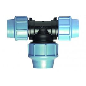 Trójnik redukcyjny PE odwrotnie fi 20x25mm PN 16