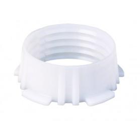 Pierścień zaciskowy biały fi 16mm