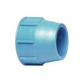 Nakrętka dociskowa niebieska fi 63mm
