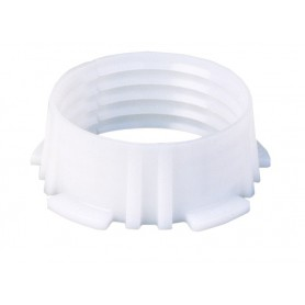 Pierścień zaciskowy biały fi 50mm