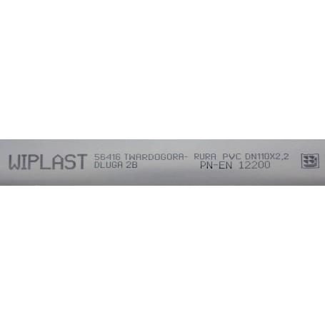 Rura kanalizacyjna z PVC-u DN 110x2,2x315mm (wewnętrzna)