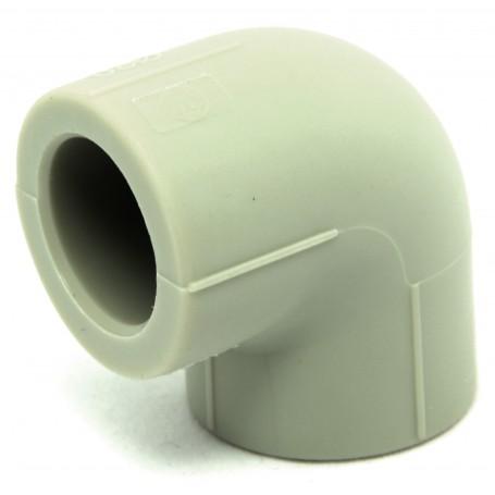 Geschweißter Bogen PPR fi 20mm Winkel 90 Grad