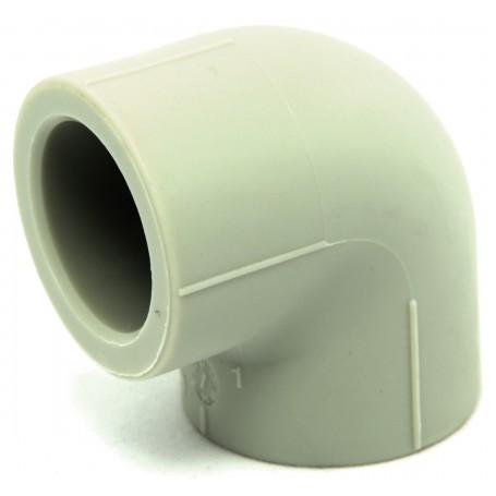 Zvárané koleno PPR Fi 25mm uhol 90 stupňov