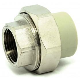"""Śrubunek z gwintem wewnętrznym PP-R fi 25x3/4""""mm"""