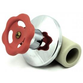 Zawór kulowy podtynkowy PP-R fi 25mm