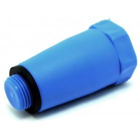Korek montażowy fi 20mm (niebieski)