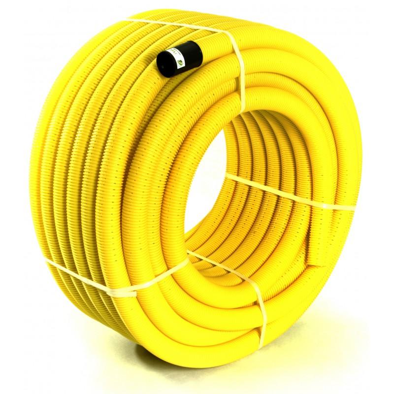 Rura drenarska PVC-u DN 50 (zwój 50 mb)