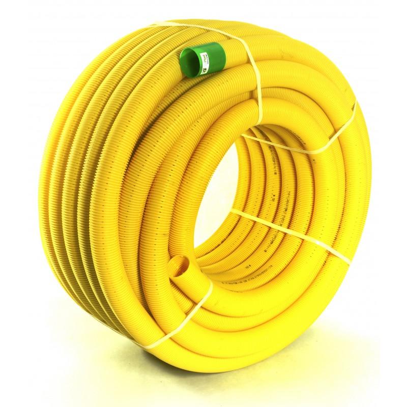 Rura drenarska PVC-u DN 65 (zwój 50 mb)