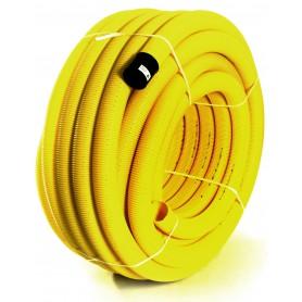 Rura drenarska PVC-u DN 80 (zwój 50 mb)