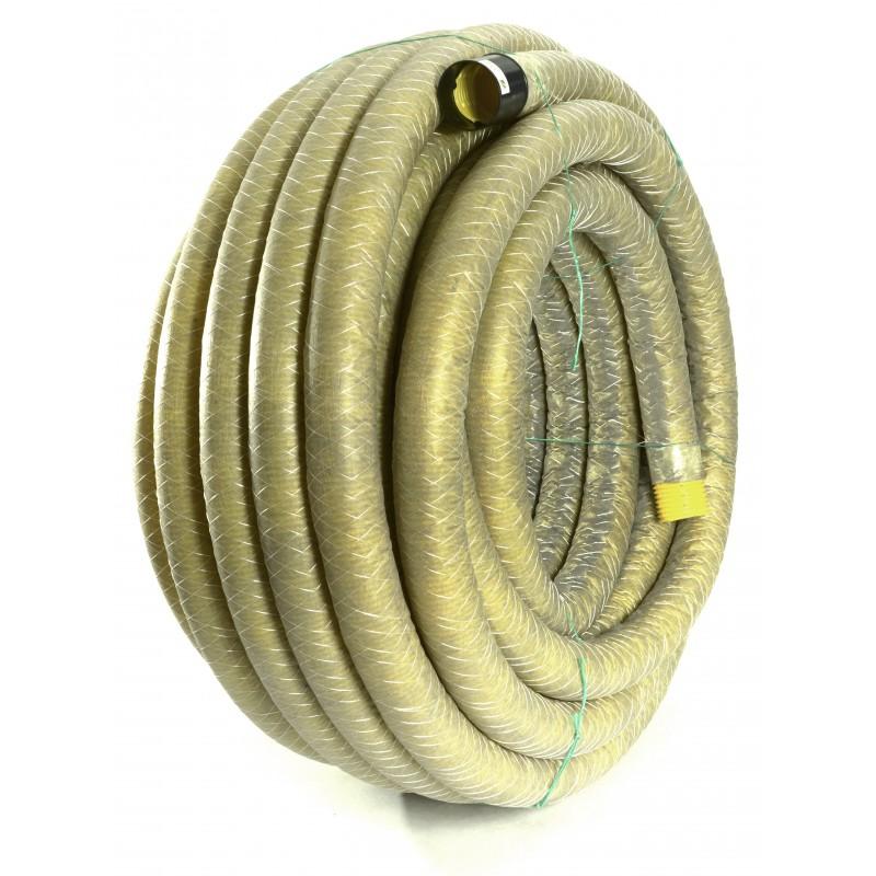 Rura drenarska PVC-u w otulinie DN 100 (zwój 50 mb)