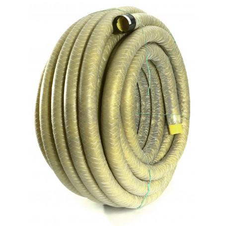 Rura drenarska PVC-u w otulinie DN 125 (zwój 50 mb)