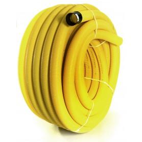 Rura drenarska PVC-u bez otworów fi 100 (zwój 50 mb)