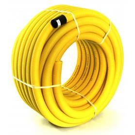 Rura drenarska PVC-u bez otworów fi 50 (zwój 50 mb)
