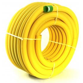 Rura drenarska PVC-u bez otworów DN 65 (zwój 50 mb)