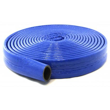 Otulina termoizolacyjna PE fi 18/6mm krążek 10mb (niebieska)