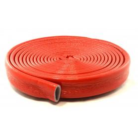 Otulina termoizolacyjna PE fi 18/6mm krążek 10mb (czerwona)