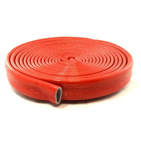 Otulina termoizolacyjna PE fi 15/4mm krążek 10mb (czerwona)