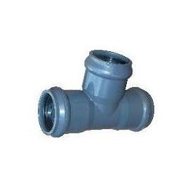Trójnik ciśnieniowy PVC fi 160/90mm