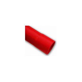Rura osłonowa RHDPE-M fi 50x2,0 czerwona odcinek 6m