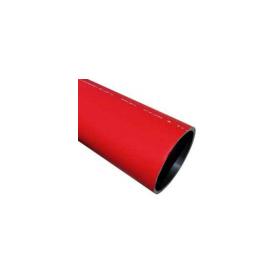 Rura osłonowa RHDPE-M DL fi 160x5,0 czerwona odcinek 6m