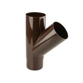 Trójnik rury spustowej z PVC-u DN 90/90 kąt 67
