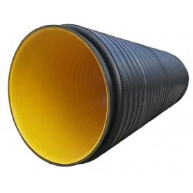 Rura karbowana XXL z PE SN 8 DN 2400x6000mm