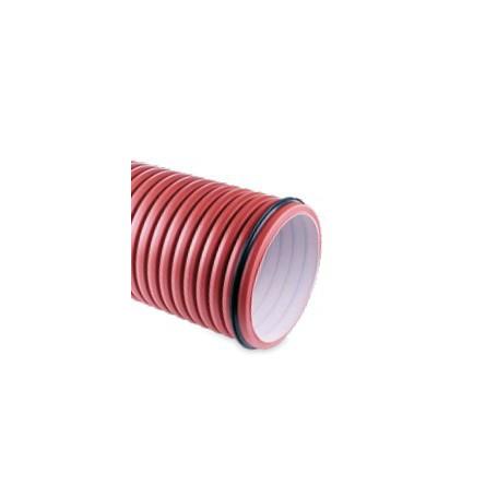 Rura karbowana (bez kielicha) z PP DN 200x6000mm