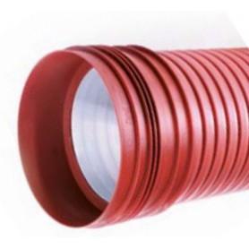 Rura karbowana (strukturalna) z PP DN/ID 250x6000mm