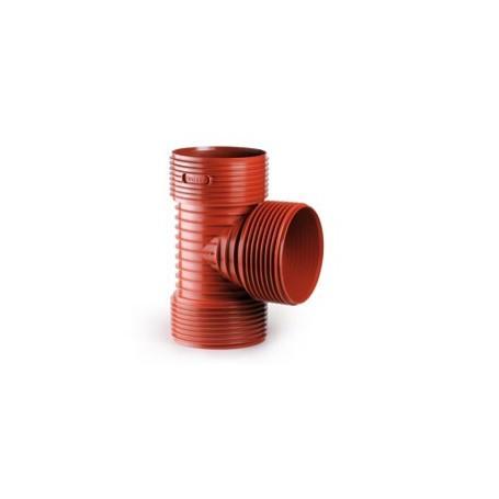 Trójnik karbowany (strukturalny) z PP DN 250/200 kąt 90 stopni