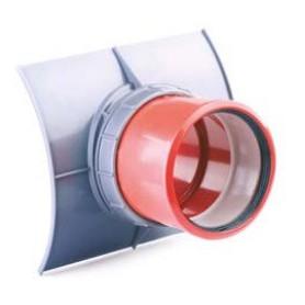 Przyłącze siodłowe z PP DN 300-200mm