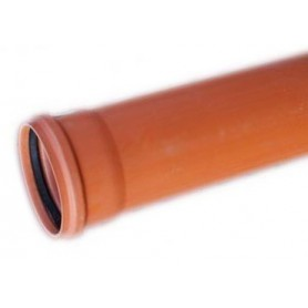 Rura kanalizacyjna z PVC-u DN 250x6,2x2000mm (zewnętrzna-lita)