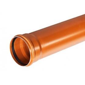 Rura kanalizacyjna z PVC-u DN 160x4,0x6000mm (zewnętrzna-rdzeń spieniony)