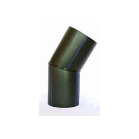 Segmented arc PE HD 100 PN 10 DN 355 Angle 15