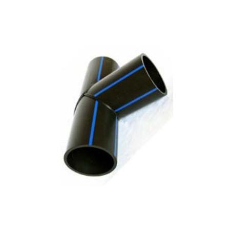 Trójnik równoprzelotowy PE HD 100 PN 16 DN 110 kąt 90